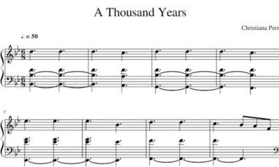 A Thousand Years (Christina Perri)