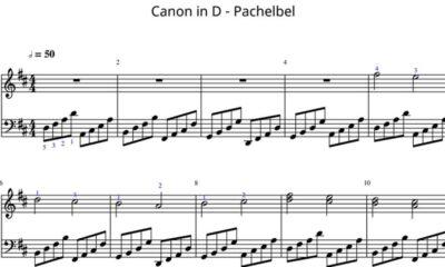 Canon de Pachelbel (Fácil)
